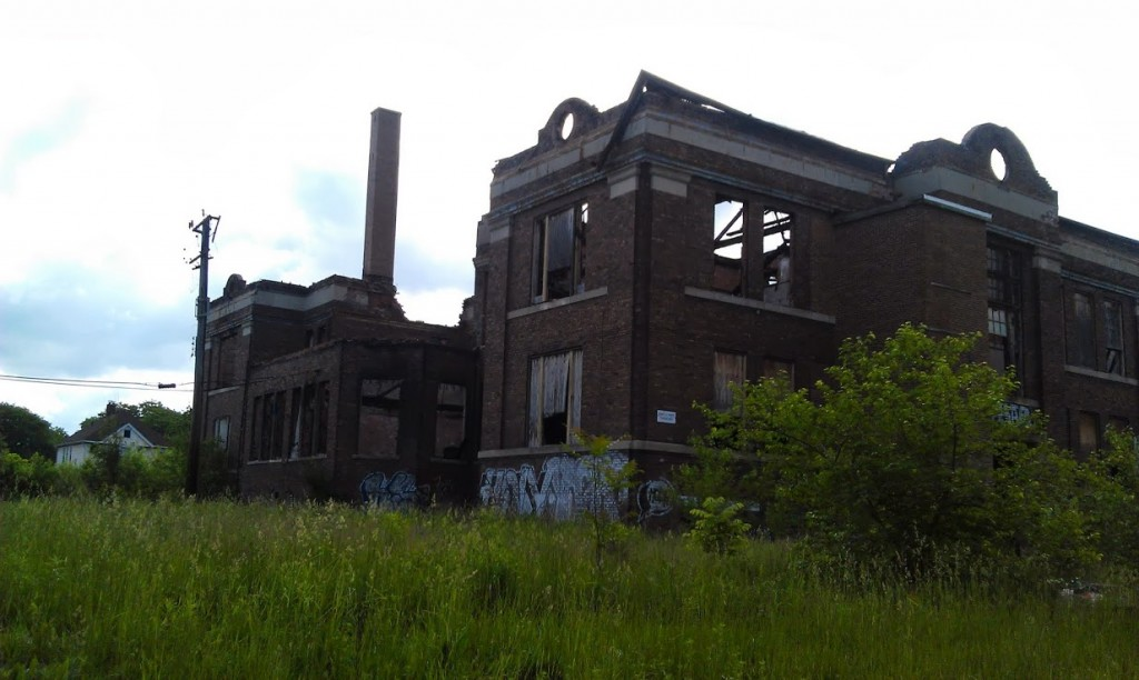 Ruins of the Packard school
