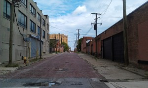 Street in Downtown Detroit